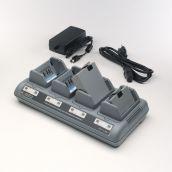 Chargeur QUAD Zebra pour 4 batteries QL/RW/P4T