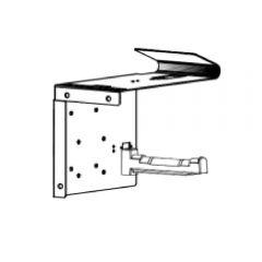 Porte-rouleau à fixation murale pour imprimante reçu Kiosk