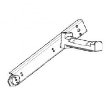 """Support rouleau """"Universal"""" position variable position pour Zebra Kiosk KR203, KR403 & TTP 2000"""