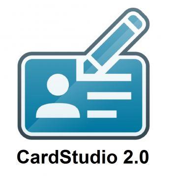 ZEBRA CARDSTUDIO 2.0 STANDARD - LOGICIEL BADGE
