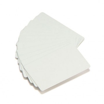 Carte eco Zebra PVC blanc - 0,76mm