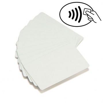 Carte Zebra PVC blanc UHF RFID Monza 4QT