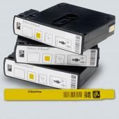 Bracelet ZEBRA pour HC100 Z-Band fun JAUNE