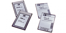 Fonts sur carte PCMCIA