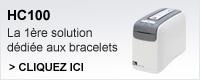 HC100 la première solution dédiée aux bracelets
