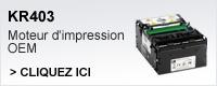 KR403 moteur d'impression OEM