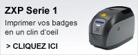 ZXP1 imprimer vos badges en un clin d'oeil