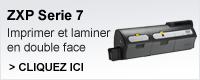 ZXP7 imprimer en couleur en recto-verso