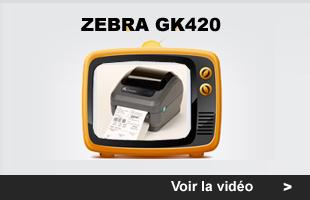 myZebra: Imprimante Zebra GK 420
