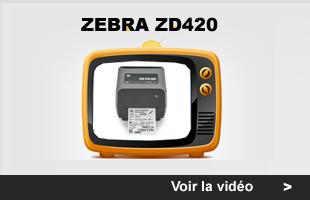 myZebra: Imprimante Zebra ZD420