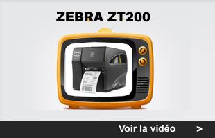 myZebra: Imprimante Zebra ZT 200