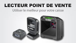 Lecteur code barres point de vente
