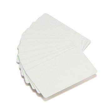 Carte eco Zebra PVC blanc - 0,76mm