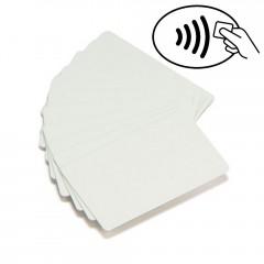 100 cartes PVC blanc UHF RFID Monza 4QT