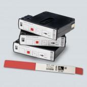 Bracelet ZEBRA pour HC100 Z-Band Direct ROUGE adulte