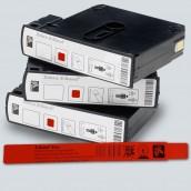 Bracelet ZEBRA pour HC100 Z-Band fun ROUGE