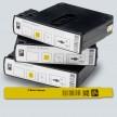 Bracelet ZEBRA pour HC100 Z-Band Splash JAUNE